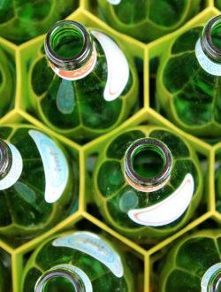 caisse de bouteilles consigne l'anvers récupération, lavage et redistribution