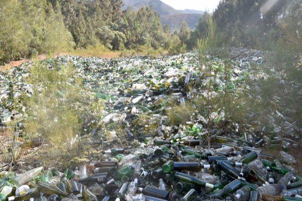verre non recyclé - bilan pollution alternative