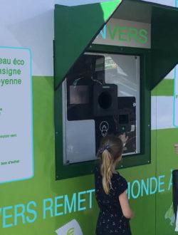 Recuperateurs gms - contenants en verre -réemploi l'Anvers